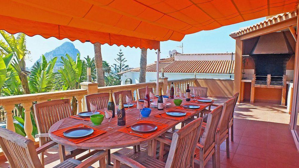 Villa Sueños – BBQ Main Terrace