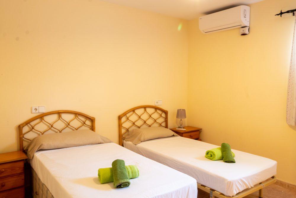 Tosal de la Cometa, Dormitorio Verde