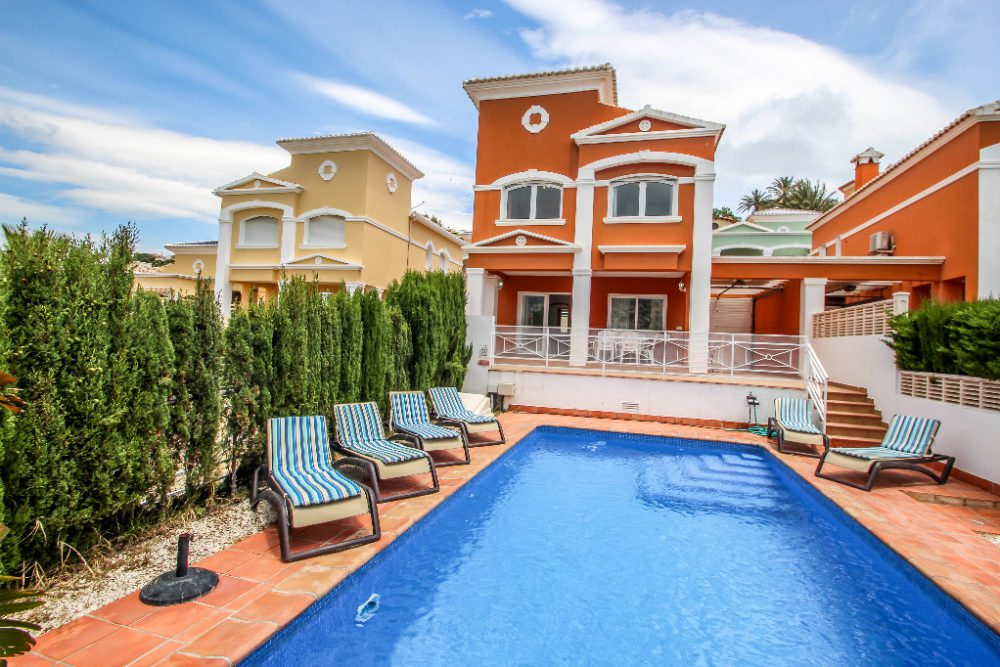 Bungalow con piscina privada, Calpe (C100103) (1)