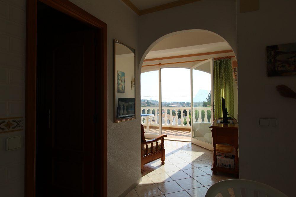 casa terraza vistas
