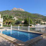 piscina montaña