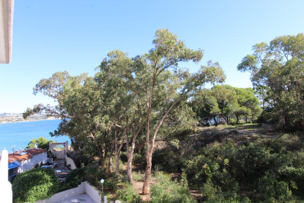 vista mar y parque natural