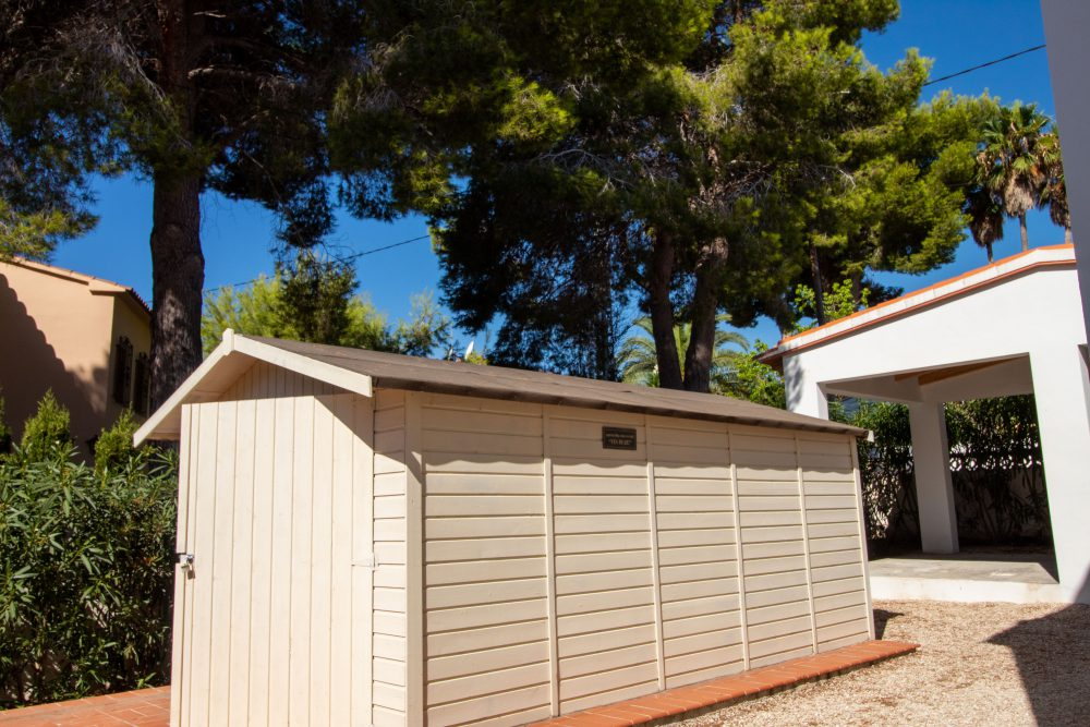 Shed exterior