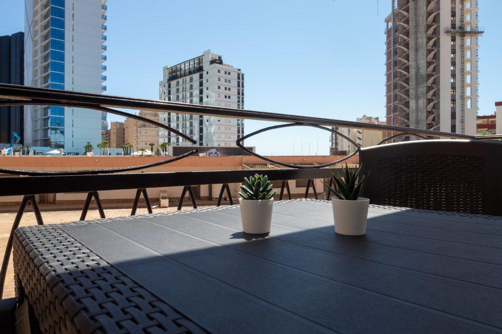 Balcón vista