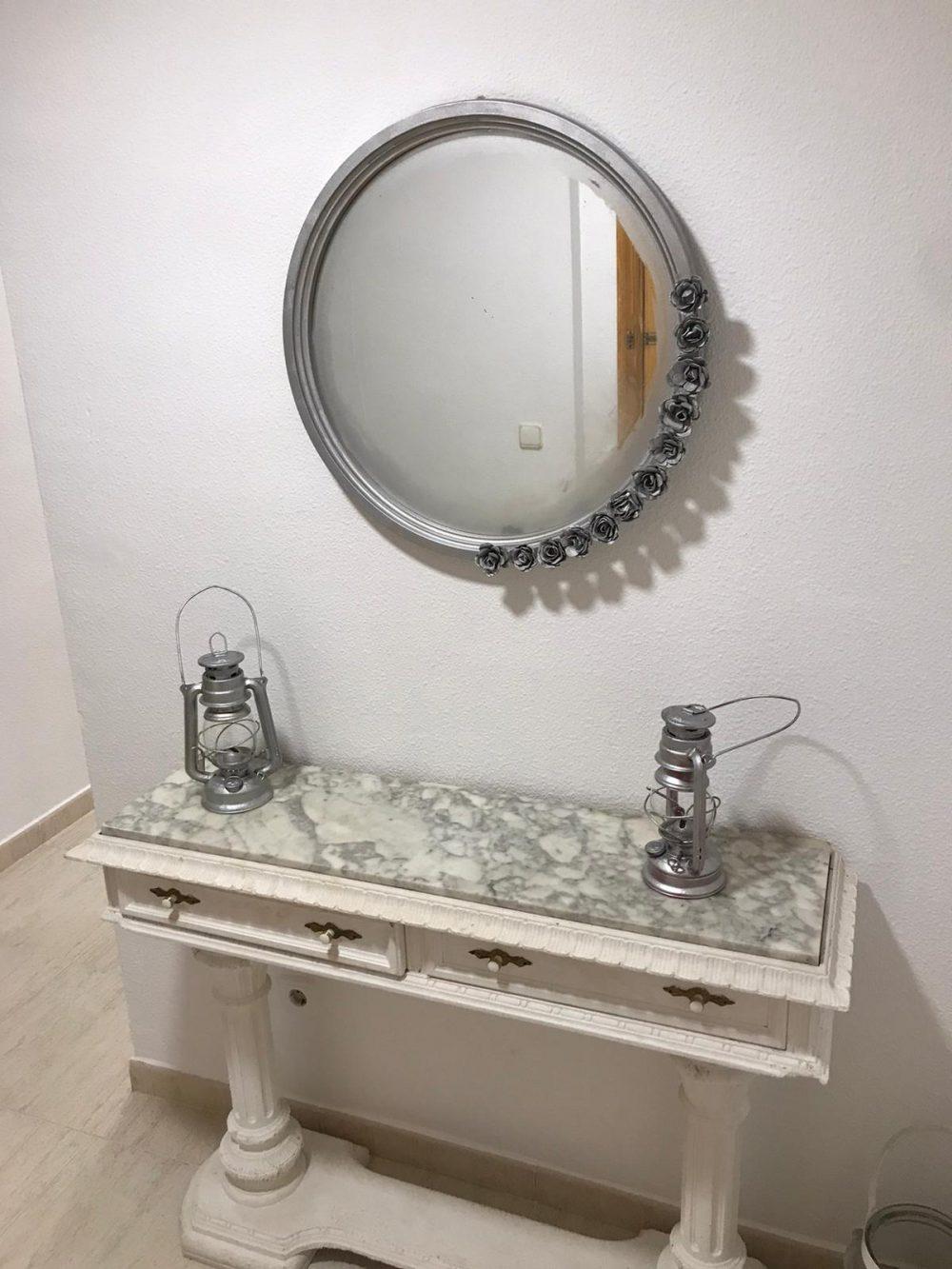 espejo mesita