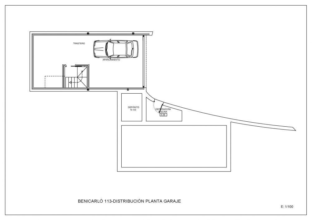 Plano Garaje (M100307)