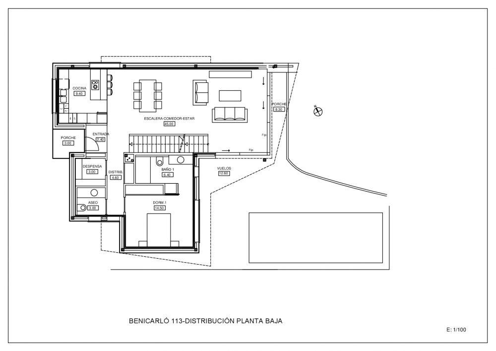 Plano Planta Alta (M100307)