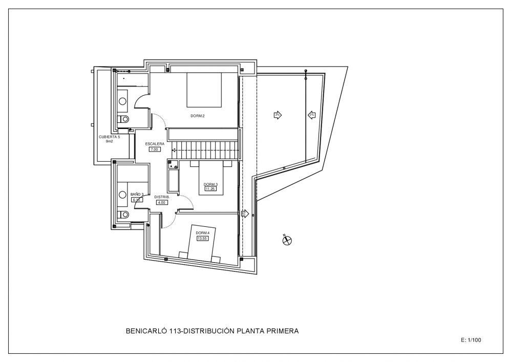 Plano Planta Primera (M100307)