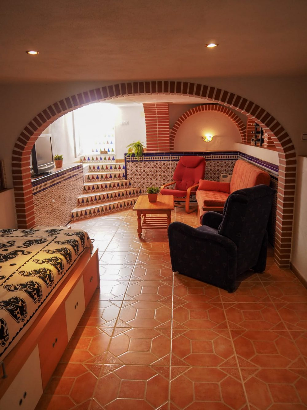 Calpe PArk habitacion relax sotano (2)