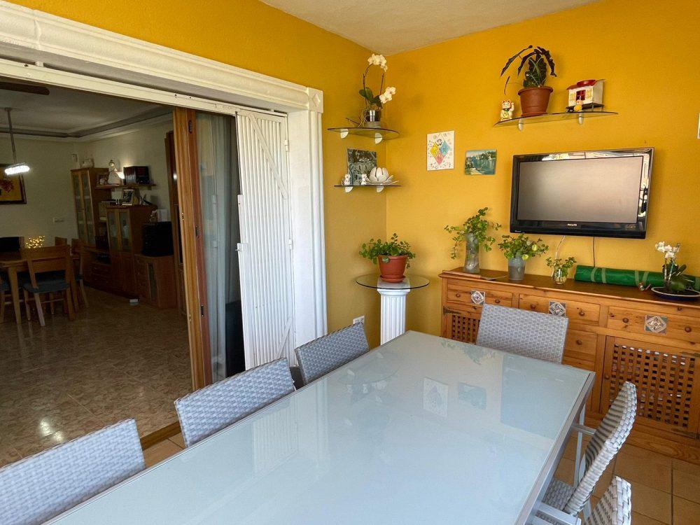 Residencial Flamingo 14 salon comedor terraza