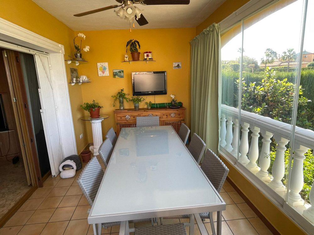 Residencial Flamingo 15 terraza acristalada