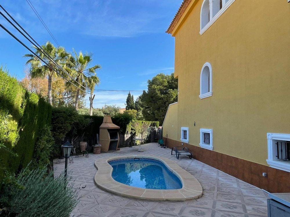 Residencial Flamingo 7 piscina privada barbacoa